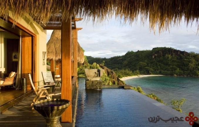 اقامتگاه و چشمهی آب گرم مایا لاکچری(maia luxury)، سیشل(seychelles)