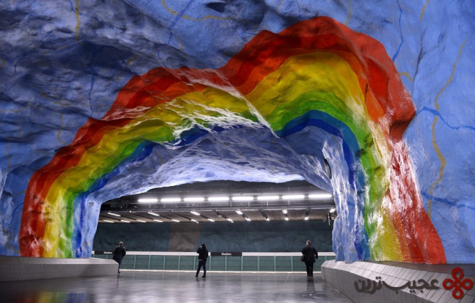ایستگاه استادیون (stadion)، استکهلم، سوئد