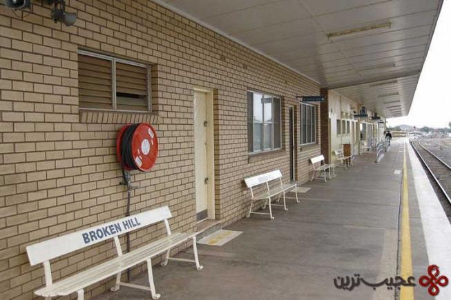 ایستگاه بروکن هیل (broken hill)، استرالیا