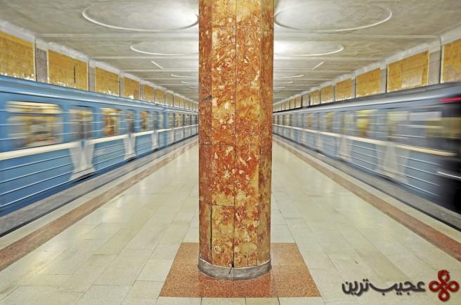 ایستگاه مترو مسکو، روسیه