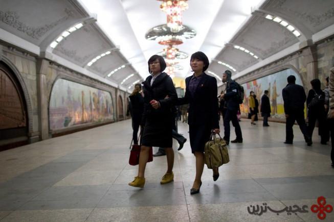 ایستگاه مترو پوهانگ (puhung)، پیونگیانگ، کره شمالی