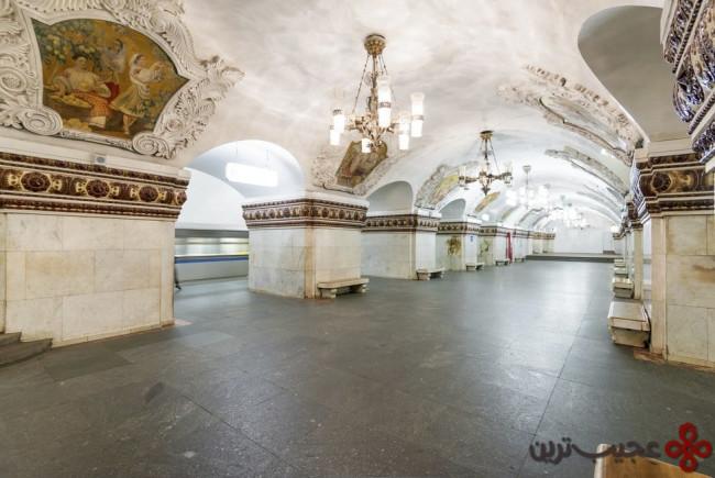 ایستگاه مترو کییفزکایا، مسکو، روسیه