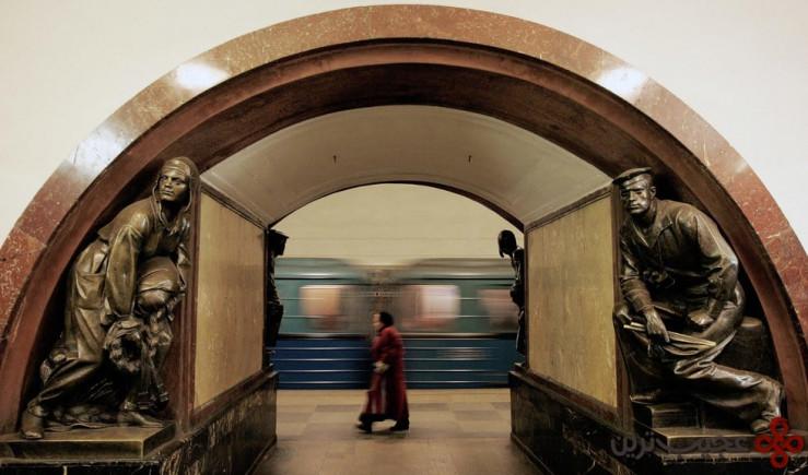 ایستگاه پلوشاد رولیوسی، مسکو، روسیه
