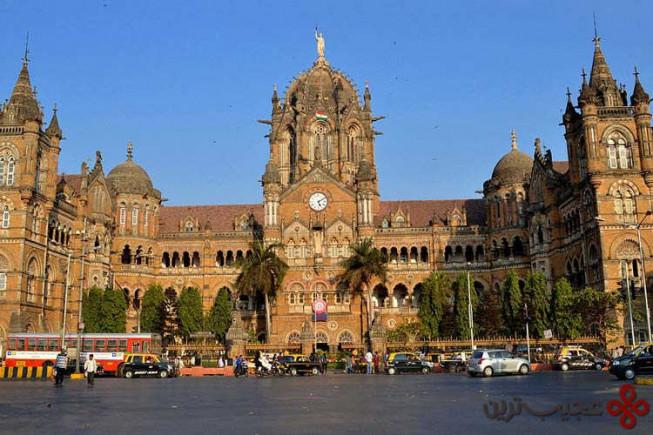 ایستگاه چاتراپاتی شیواجی (chhatrapati shivaji terminus)، مومبای، هند