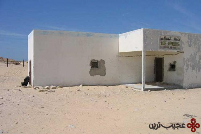 ایستگاه چوم (choum)، موریتانی