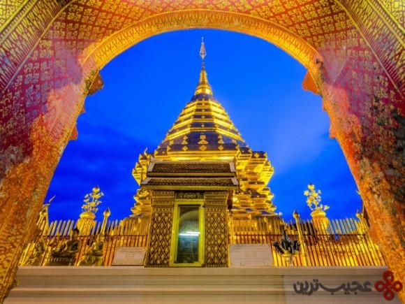 بازدید از یک معبد