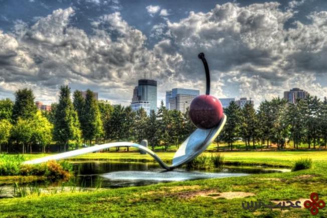 باغ مجسمهی مینیاپولیس، مینیاپولیس، ایالت مینهسوتا، ایالات متحده