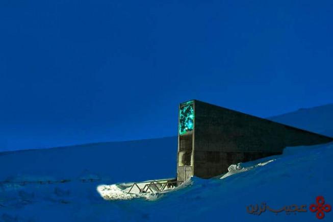 بانک جهانی بذر (svalbard global seed vault)، نروژ