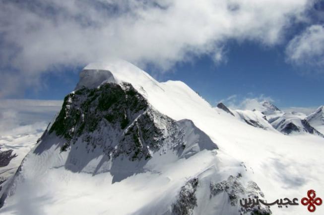 بریتورن (breithorn)، سوئیس، ۴۱۶۴ متر