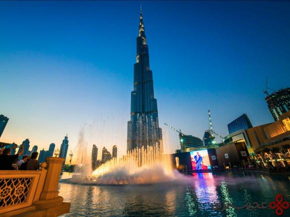 بزرگ ترین برج دنیا دارای چهار رکورد جهانی