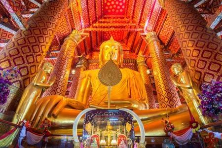 بودا آیوتایا (تایلند، آیوتایا)
