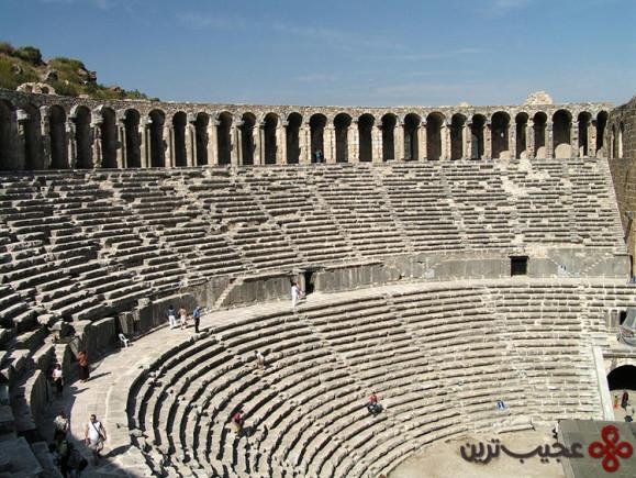 تئاتر آسپاندوس (Aspendos Theatre)