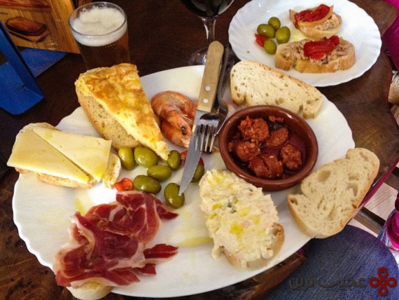 تجربه غذاهای لذیذ اسپانیایی