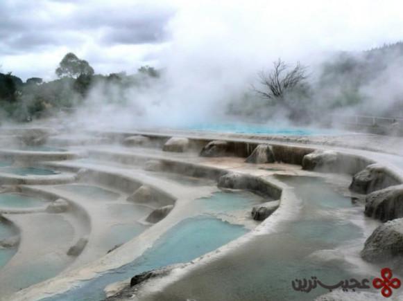 تراسهای وایراکئی (wairakei)، تائوپو، نیوزیلند