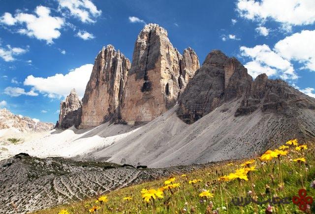 تری چیمه دی لوریدو (tre cime di lavaredo)، ایتالیا