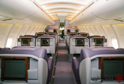 تنها طبقهی بالای این هواپیما مساحتی برابر با کل بوئینگ ۷۳۷ دارد