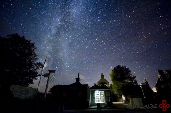 جزیرهای ویژهی ستارهشناسان