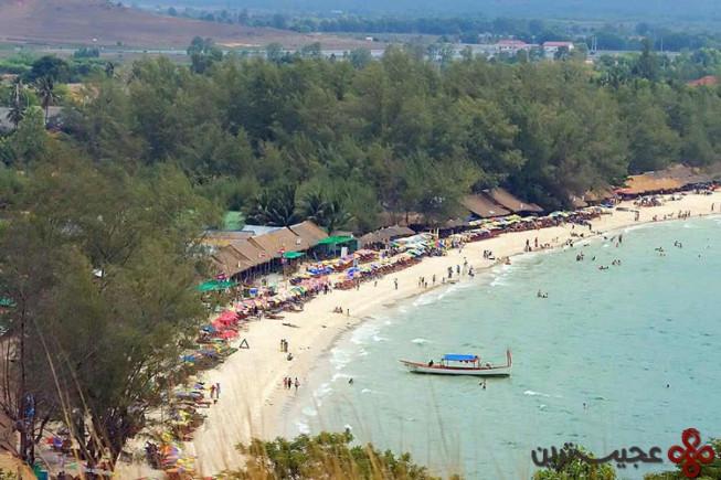 جزیره سیهانوکویل، کامبوج 1