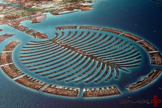 جزیره نخل ساختهشده توسط انسان