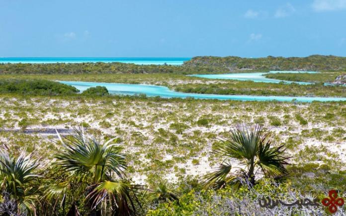 جزیره exumas در باهاما (bahamas