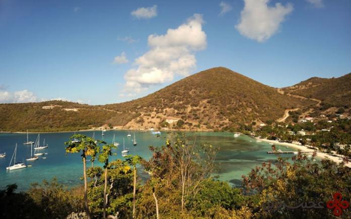 جزیره jost van dyke در british virgin