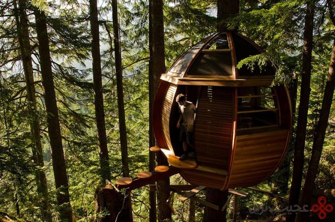 خانهی درختی هم لافت (hemloft)، ویسلر (whistler)، کانادا