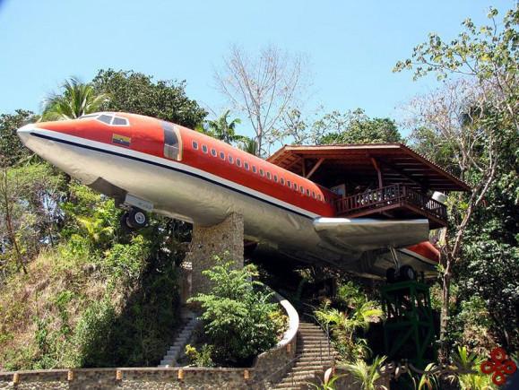 خانهی درختی هواپیمایی، کاستاریکا
