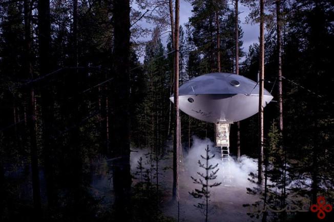 خانهی درختی یوفو، سوئد