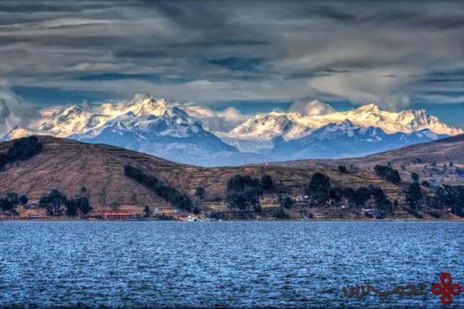 خرابههای دوران ماقبل اینکای دریاچه تیتیکاکا، بولیوی