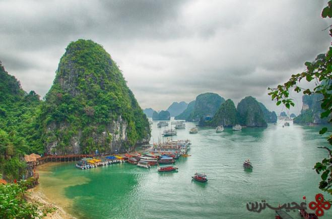 خلیج ها لونگ ویتنام