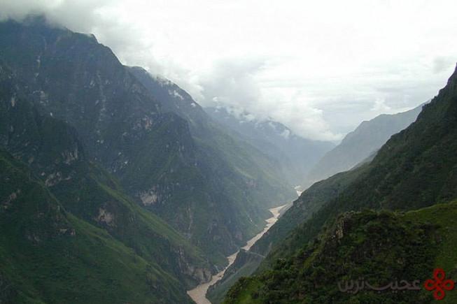 درهی تایگر لیپینگ جرج، یوننان، جنوب چین
