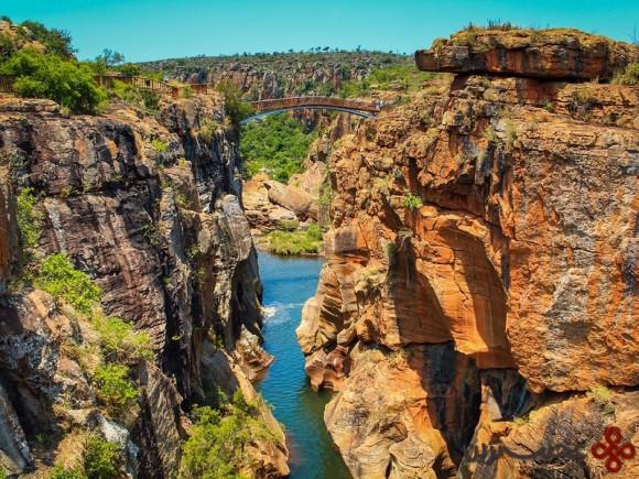 درهی رود بلاید (blyde) و تنگهی رود نوی (nuy)، آفریقای جنوبی