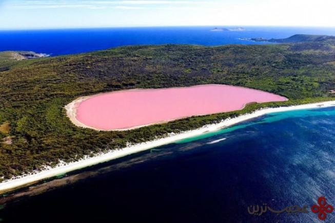 دریاچهٔ هیلیِر ۱ (hillier)، میدل آیلند (middle island)، استرالیا