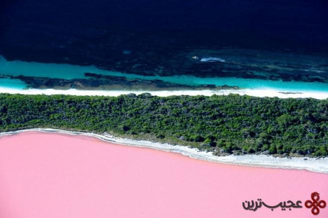 دریاچهٔ هیلیِر ۲ (hillier)، میدل آیلند (middle island)، استرالیا