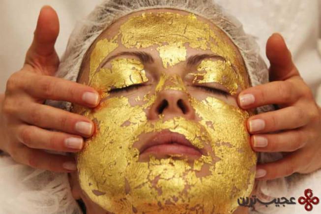 رفع چروک پوست با استفاده از طلای ۲۴ عیار