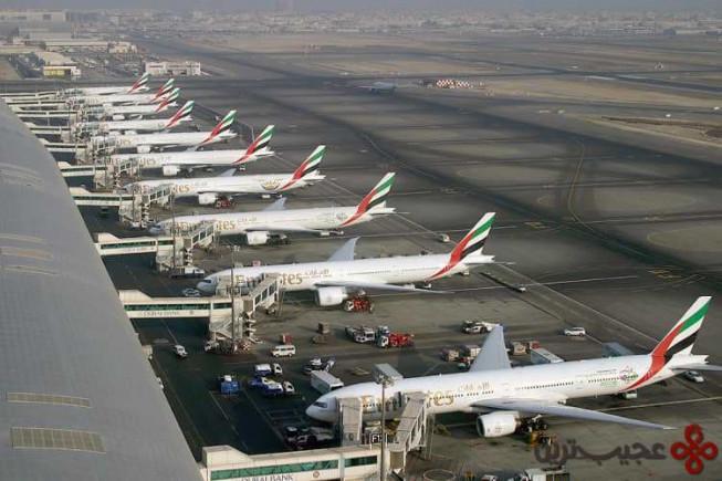 ساخت بزرگترین فرودگاه جهان در دبی