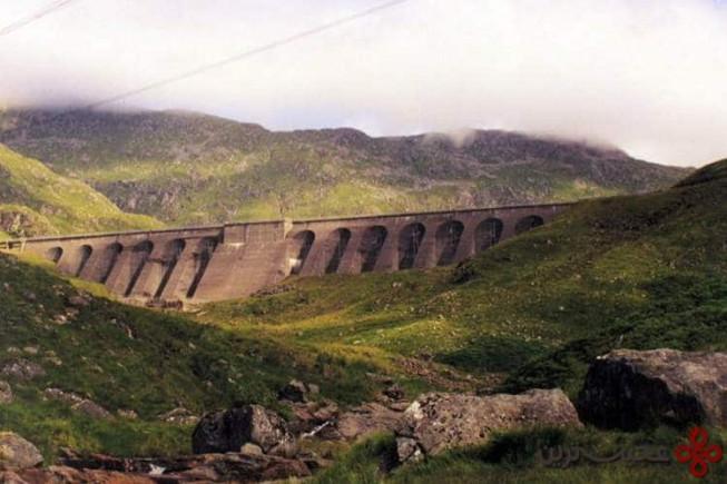 سد cruachan، اسکاتلند
