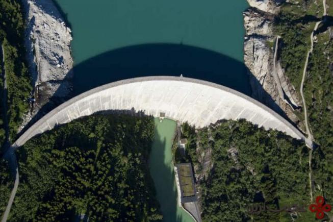 سد grande dixence، سوئیس