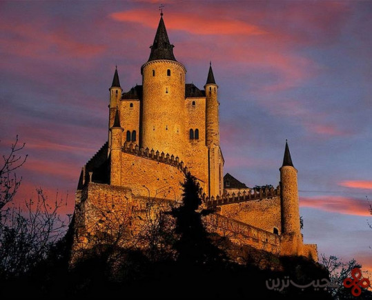 سفیدبرفی و هفت کوتوله، قلعهی سگوویا (segovia)، اسپانیا2
