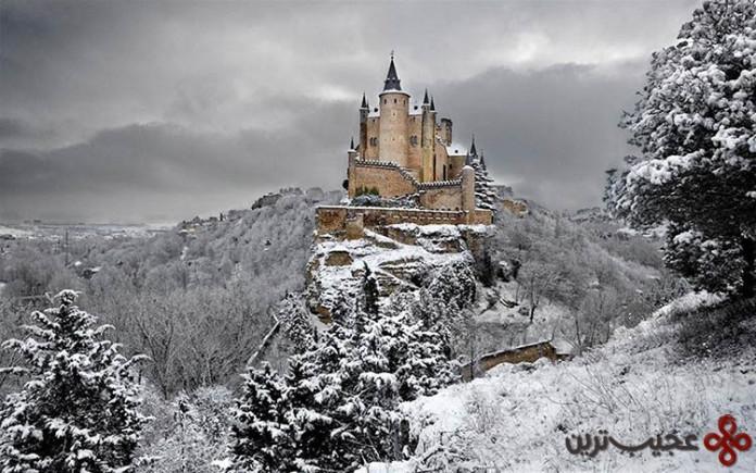 سفیدبرفی و هفت کوتوله، قلعهی سگوویا (segovia)، اسپانیا