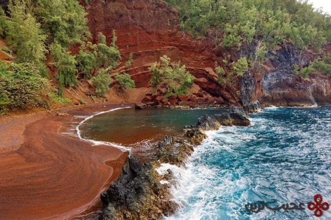 سواحل رِد سَند (red sand)