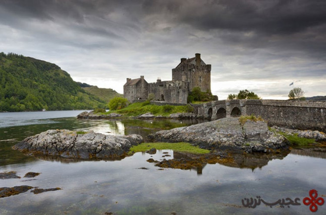شجاع (brave)، قلعهی اِلِن دونن(eilean donan)، اسکاتلند