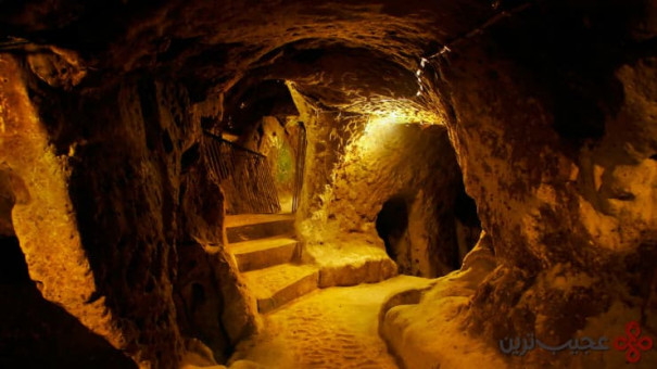 شهر زیرزمینی درینکیو (derinkuyu)، کاپادوکیه، ترکیه