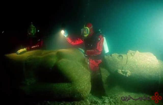 شهر thonis heracleion، مصر2