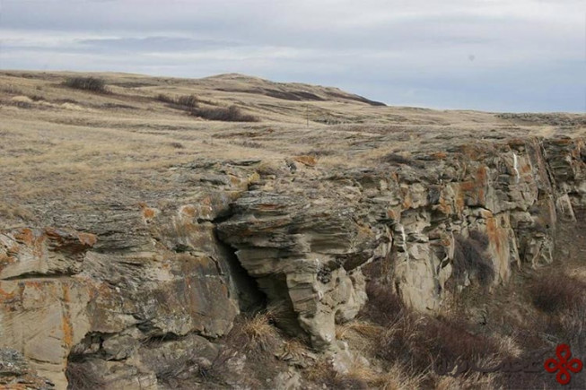 صخره‌های بوفالو جامپ (head smashed in buffalo jump)