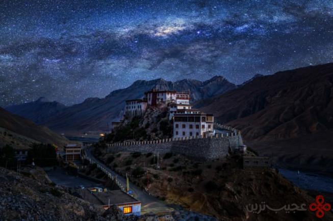 صومعهی key gompa، درهی spiti، ایالت هیماچال پرادش، هندوستان