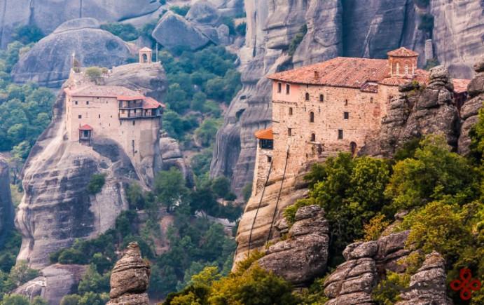 صومعهی meteora، یونان