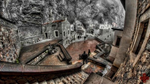 صومعهی sumela، ترابزون، ترکیه