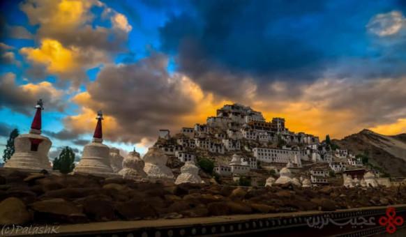 صومعهی thikse gompa، لداخ، هندوستان