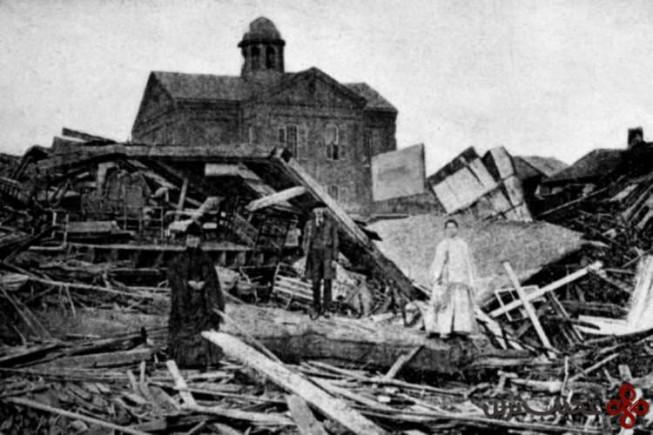 طوفان گالوستون، ۱۹۰۰